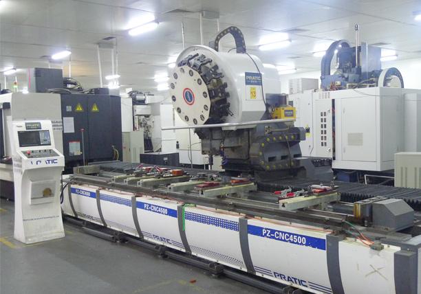 High precision CNC Lathe PRAIC PZ - CNC4500C