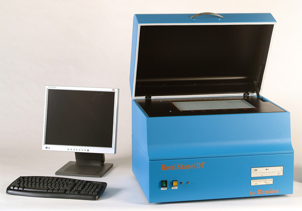 RomiShape Almu. Cross Hatching Testing Instrument