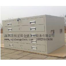 深圳图纸柜 加大抽屉图纸柜工程图纸存放柜图纸柜定做