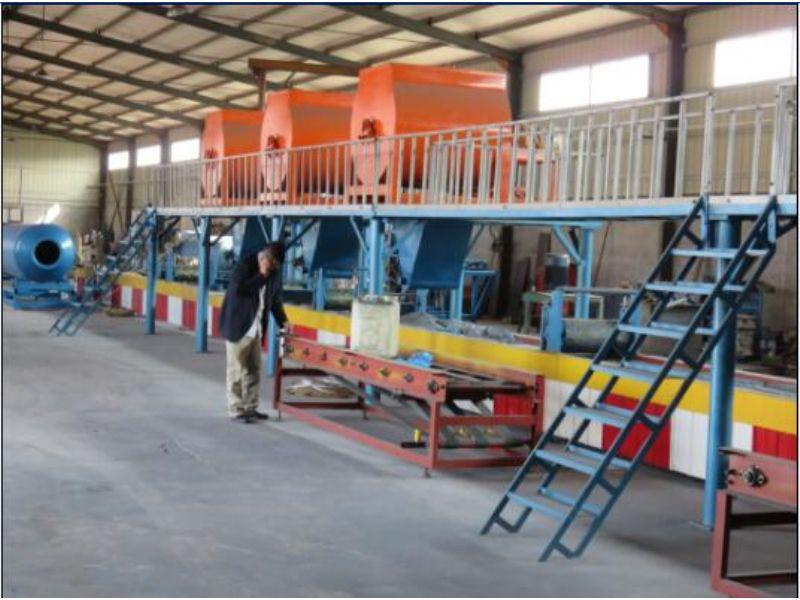 烟台【FS免拆模板设备】外浇注免拆模一体装饰板设备*专业厂家/技术支持