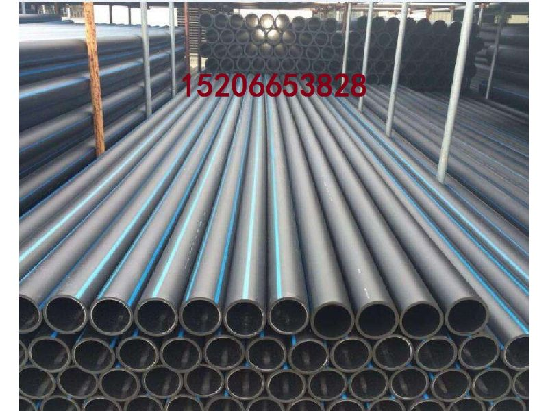 淮北市PE钢带增强管PE双平壁管材厂家价格