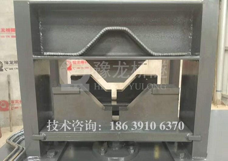 黑龙江花拱架钢筋8字结成型机